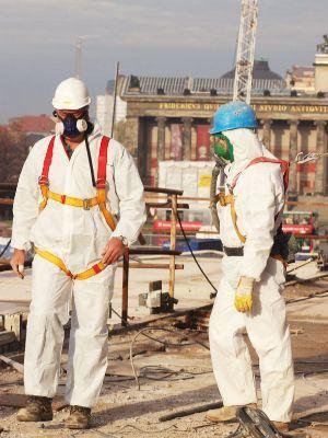 Remediation of asbestos contaminated buildings